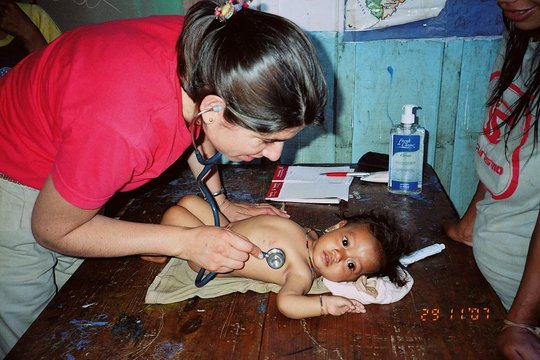 Pediatric Service at a school in Misiones