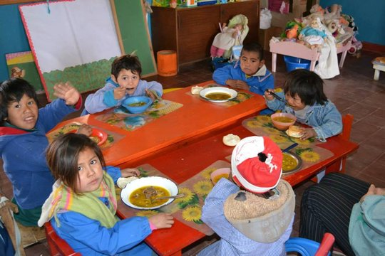 Nutrition Campaign in Pampa del Indio, Chaco