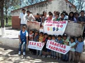 Campaign Breakfast for child Pampa del Indio Chaco