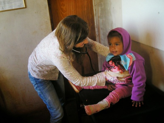 Pediatric Service in Salta, Los Oleros