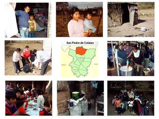 San Pedro de Colalao. Tucuman. Nutrition