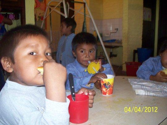 Breakfast at Pampa del Indio, Chacho