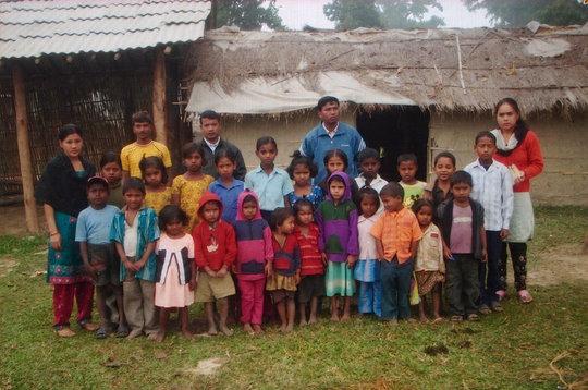 Build school for education of children in Nepal