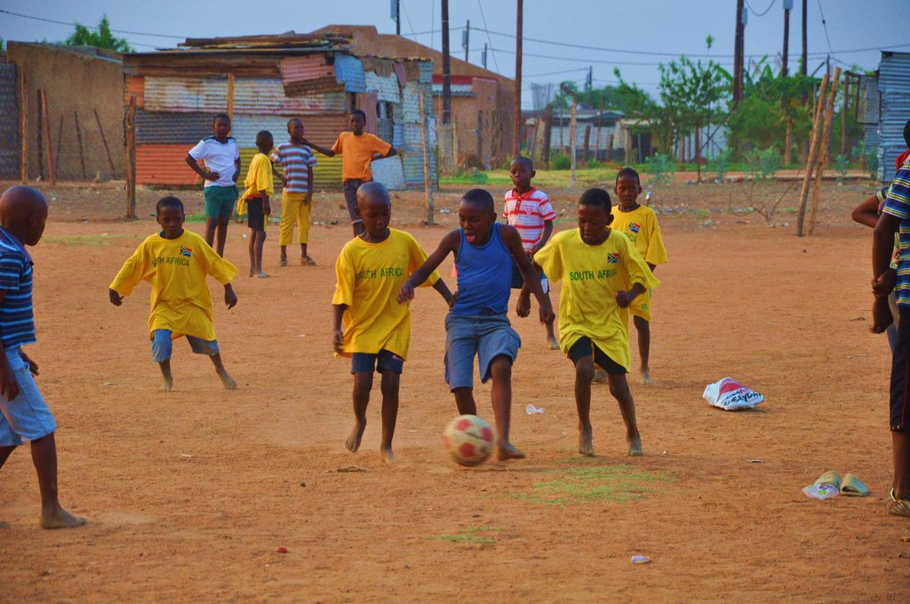 Children Kicking AIDS - Sports for Social Change Programme in South Africa