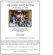 LAVOSI Silent Auction Invitation
