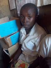 The #1 student - Bisimwa - is part of our program!