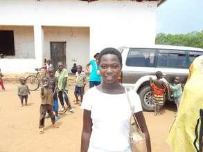 Secondary student Claudine