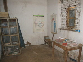 Isaac's office in 2013, as seen by Annette