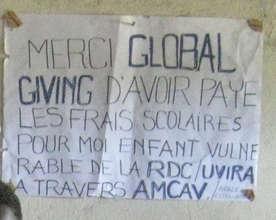 Gratitude for GlobalGiving.org!