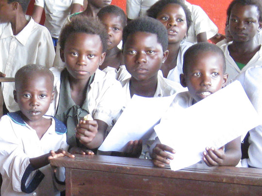 Luberizi Students at Vijana Primary School