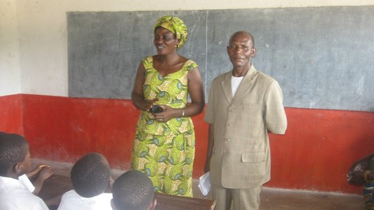 Bernadette w-Director of the Luberizi School