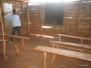 photo of classroom in the school (July, 2012)
