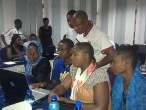 Zack Wambua and Kwale team edit data