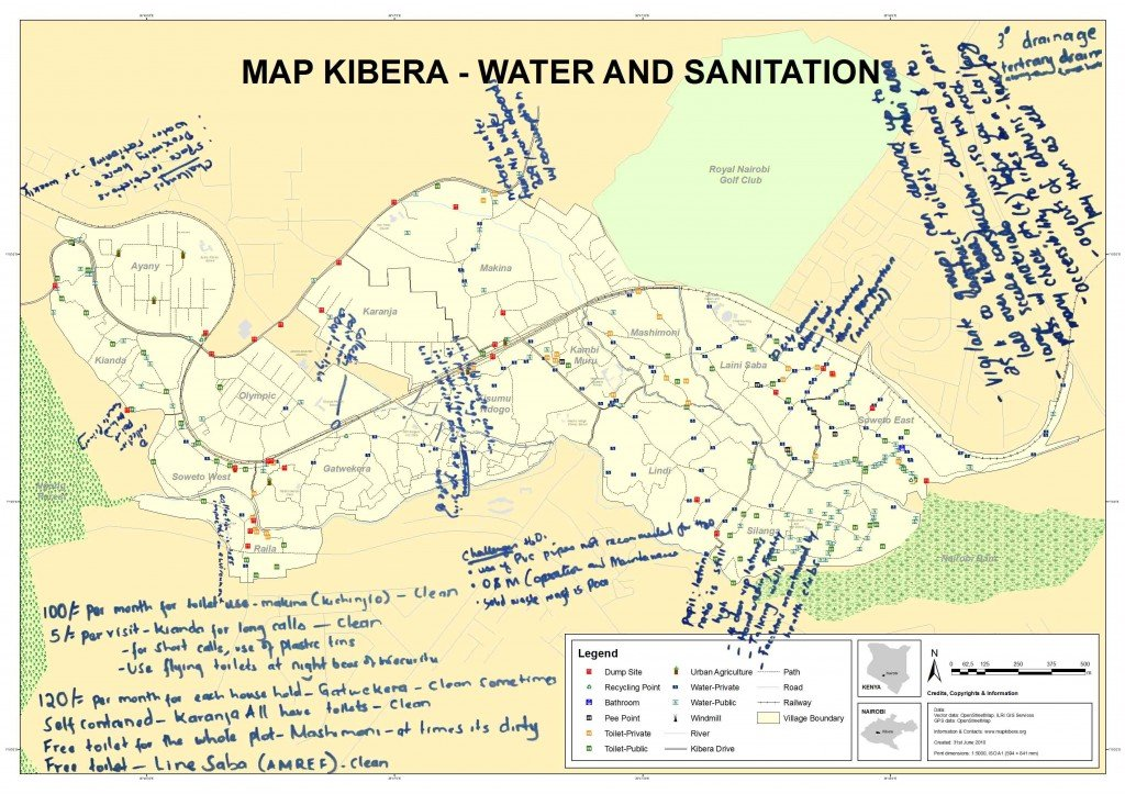 Turning maps into action in Kibera - GlobalGiving