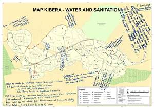 Community feedback on water and sanitation map