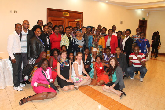 Advocacy workshop in Kenya, August 2014