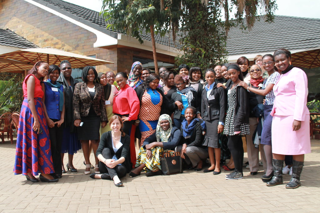 Women Thrive leading training in Nairobi