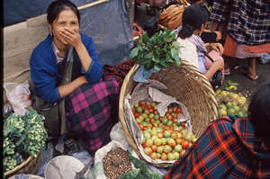 Woman at Market