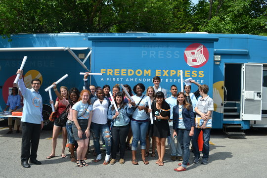 Visiting The Freedom Express