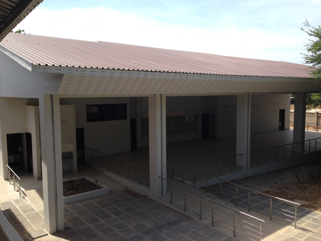 Canteen and laundry facilities are ready for use