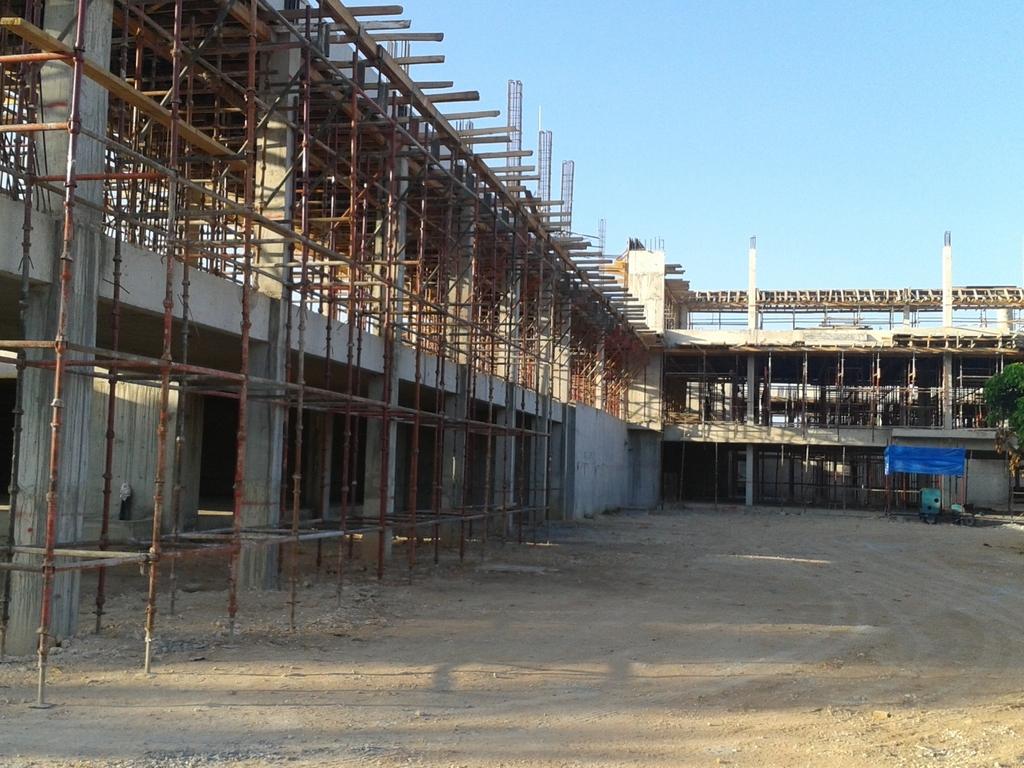 The new maternity hospital, taken 31 Dec 2012