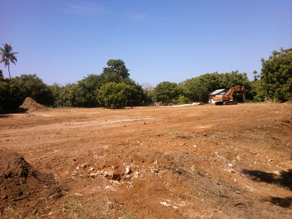 The Future Site of Baobab Maternity Hospital