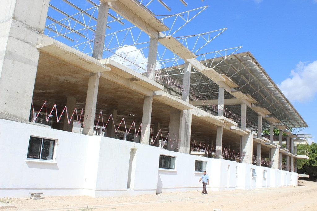 Construction continues in Dar es Salaam!