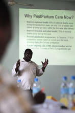 Building capacity to improve maternal healthcare