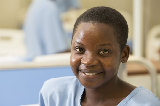 Janeth received a fistula repair surgery at CCBRT