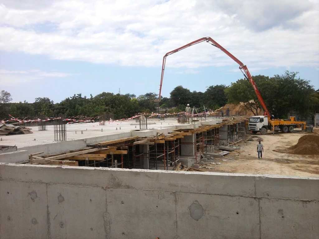 Construction is in full swing in Dar es Salaam!