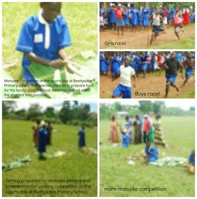 Sports Day at Bwetyaaba Primary School