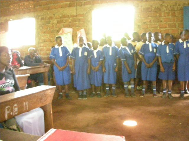 Students of Bwetyaaba Primary School