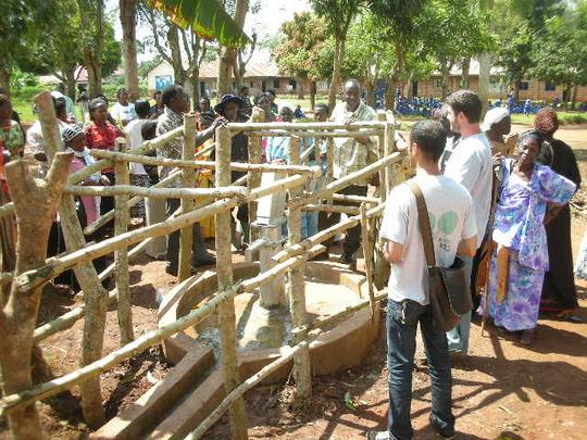 BUVAD hands over new borehole to Bwetyaaba School