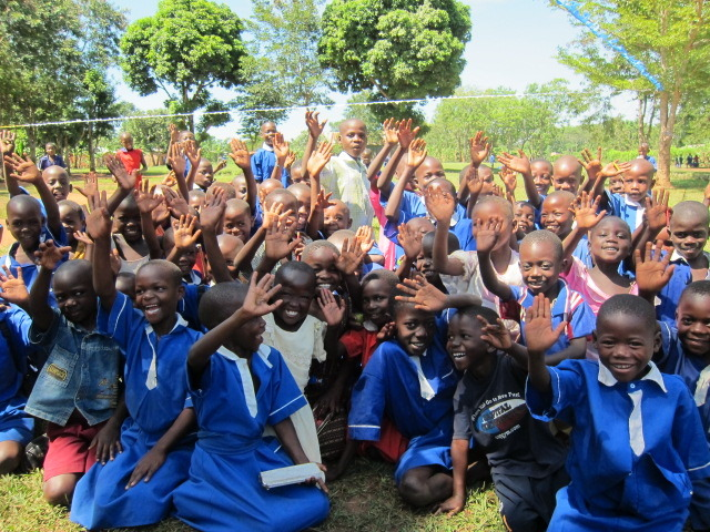 Hello from our friends in Uganda