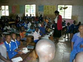 Class session at Bwetyaaba