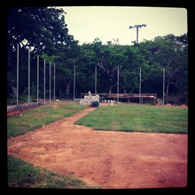 Backstop posts