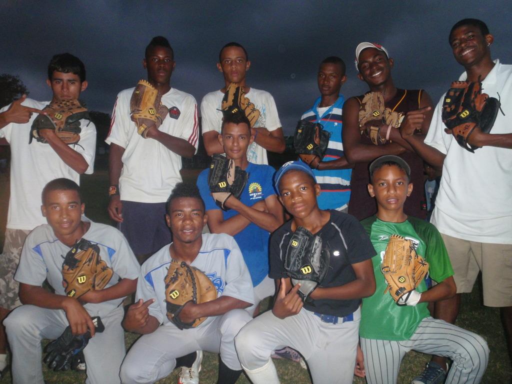 Sandy Bay Baseball Team