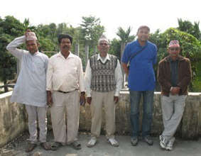 Bhawanee villagers at clinic site