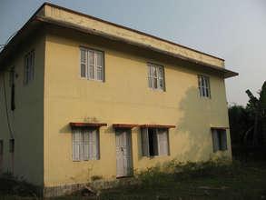 Clinic before renovation - rear.
