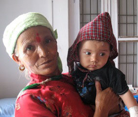 Provide healthcare access for indigent Nepalese