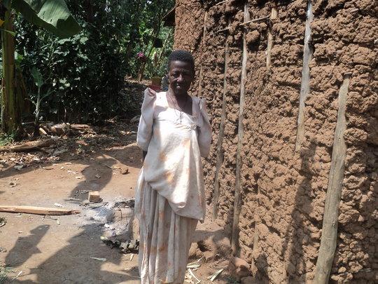 Help her get drinking water