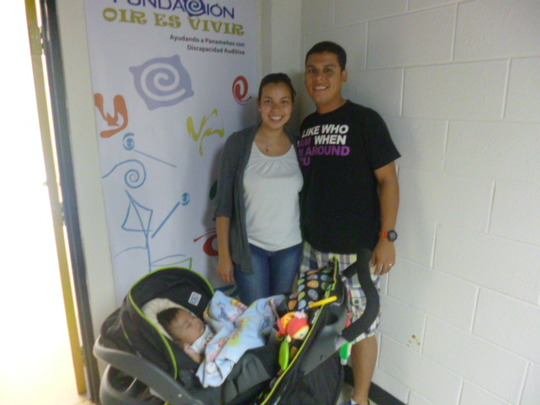 Victor, 3 months, examined for early detection