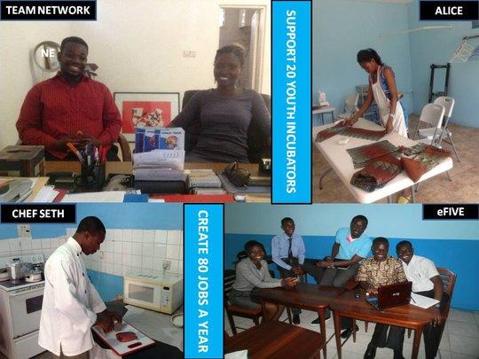 Some of our Incubator-Alumni