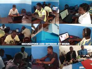 Totally Youth Incubators and Interns at Work