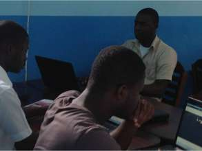 Unemployed Youth at Work at TY ICT Centre