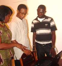 Session at Totally Youth ICT Centre