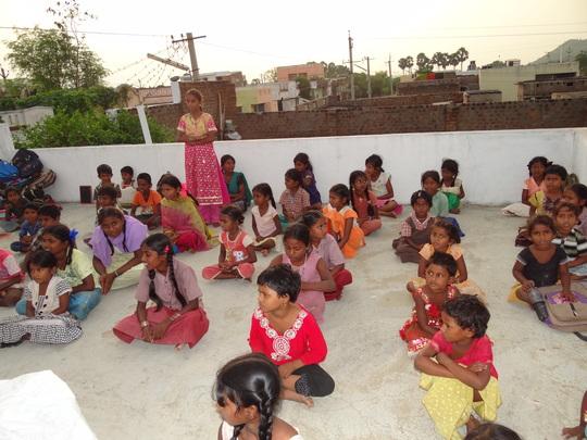 Children of Prashant Nagar Colony Centre