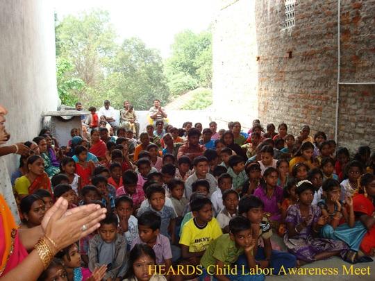 Child Labor Awareness Meeting