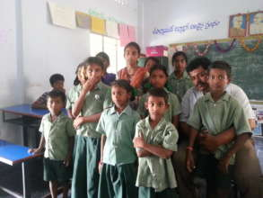 Mainstreamed Children from Government School