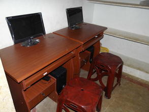 New Computer and Furniture for the center